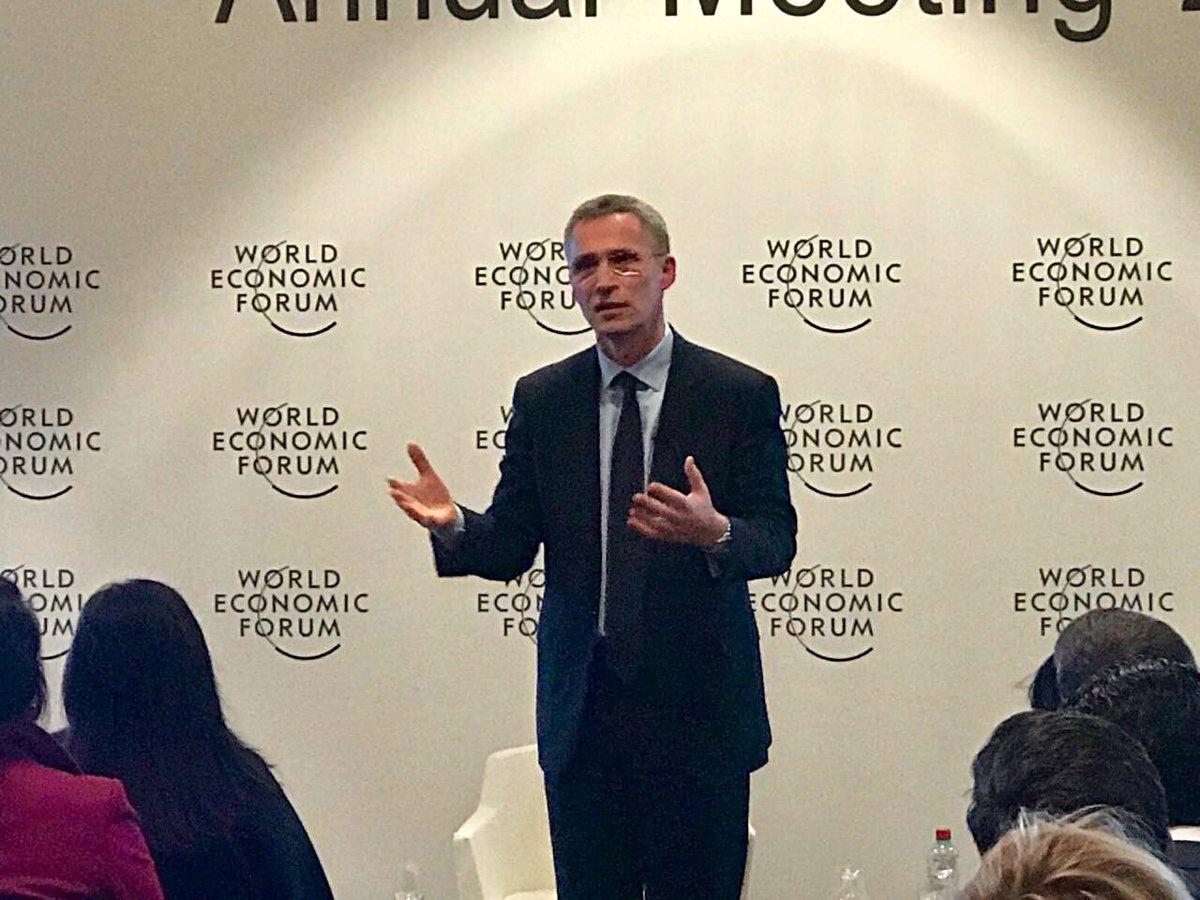 El Sec. General de @NATO compartió su confianza en el futuro de la organización con apoyo del nuevo gobierno de Estados Unidos. Veremos...