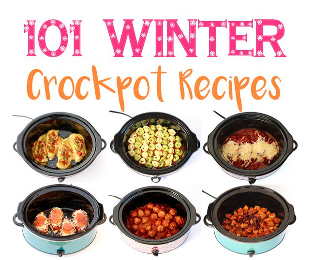 101 Easy Winter Crockpot Recipes!