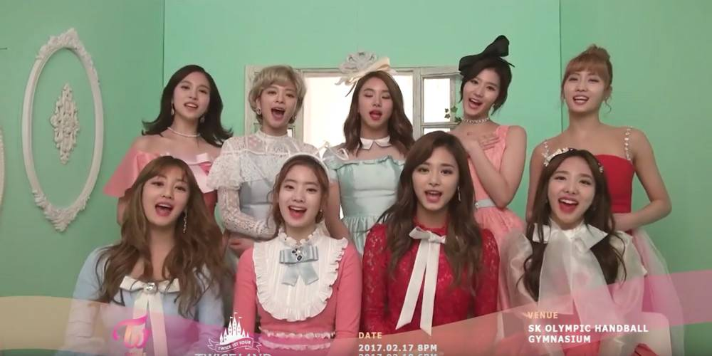 TWICE send out an invitation for their first solo concert in a video!...