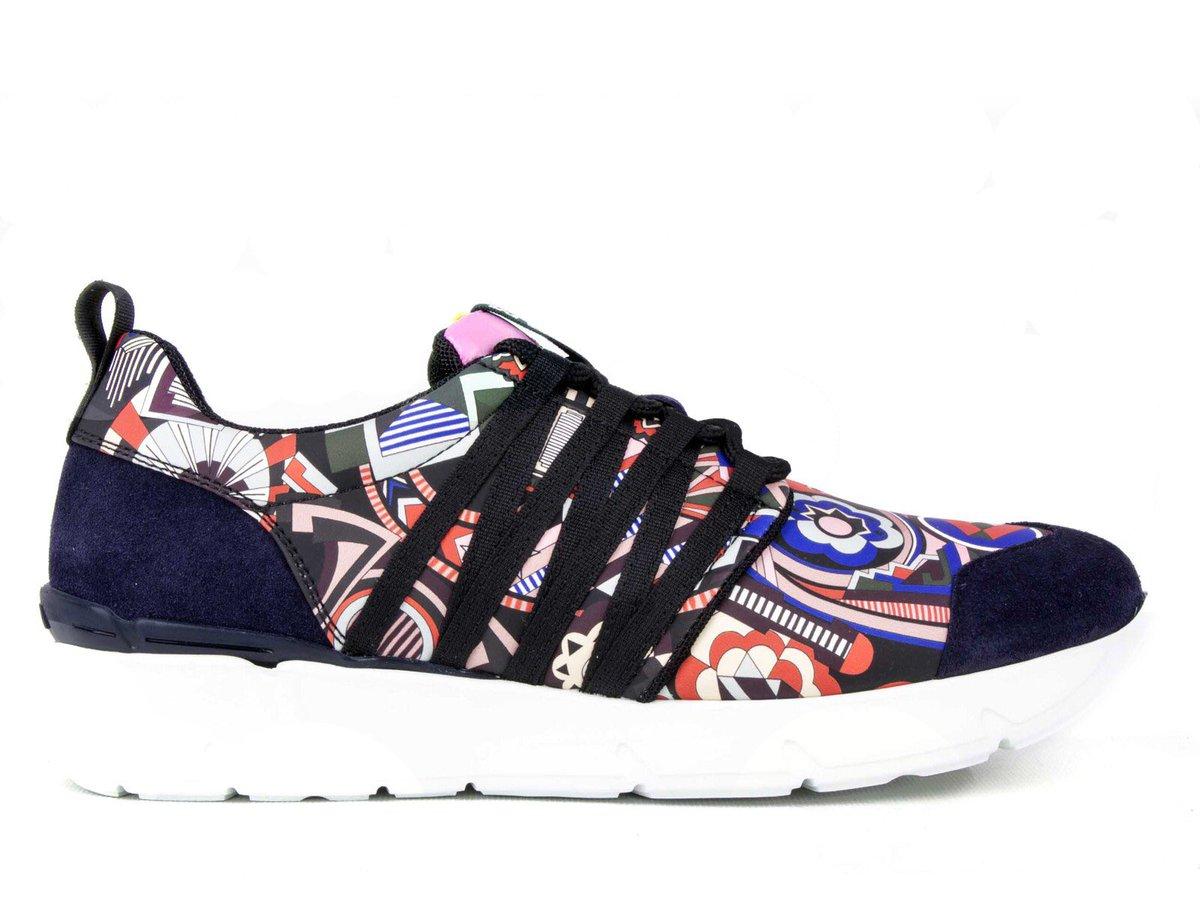 MSGM sneakers femme en cuir et tissu multicolore #basket #msgm #sneakers #cuir #luxury #femm #paris #solde #vente #shopping<br>http://pic.twitter.com/C35BBegfvq