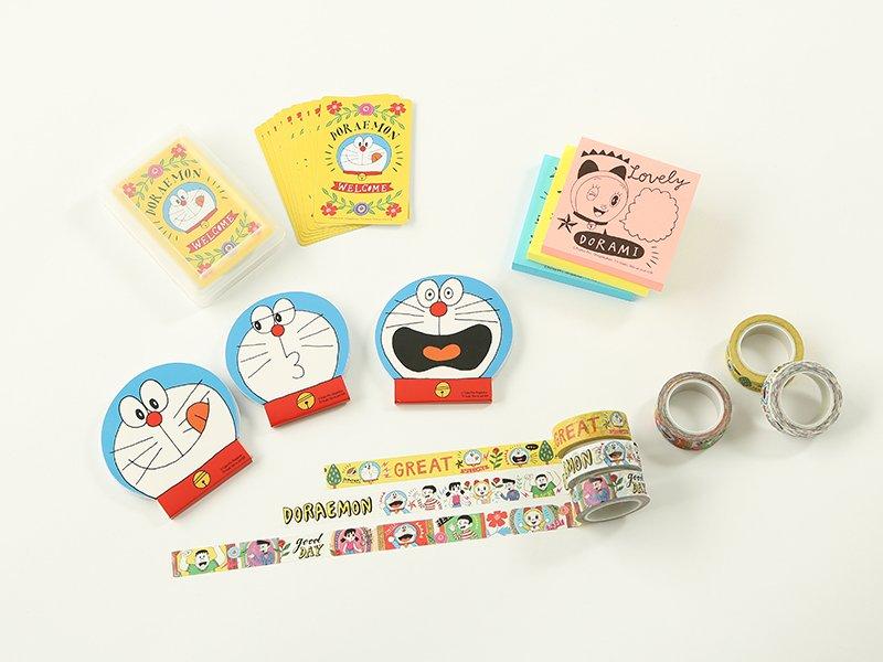 雑貨ストア「ASOKO」×「ドラえもん」バッグや食器、文房具まで展開 fashion-press.n…