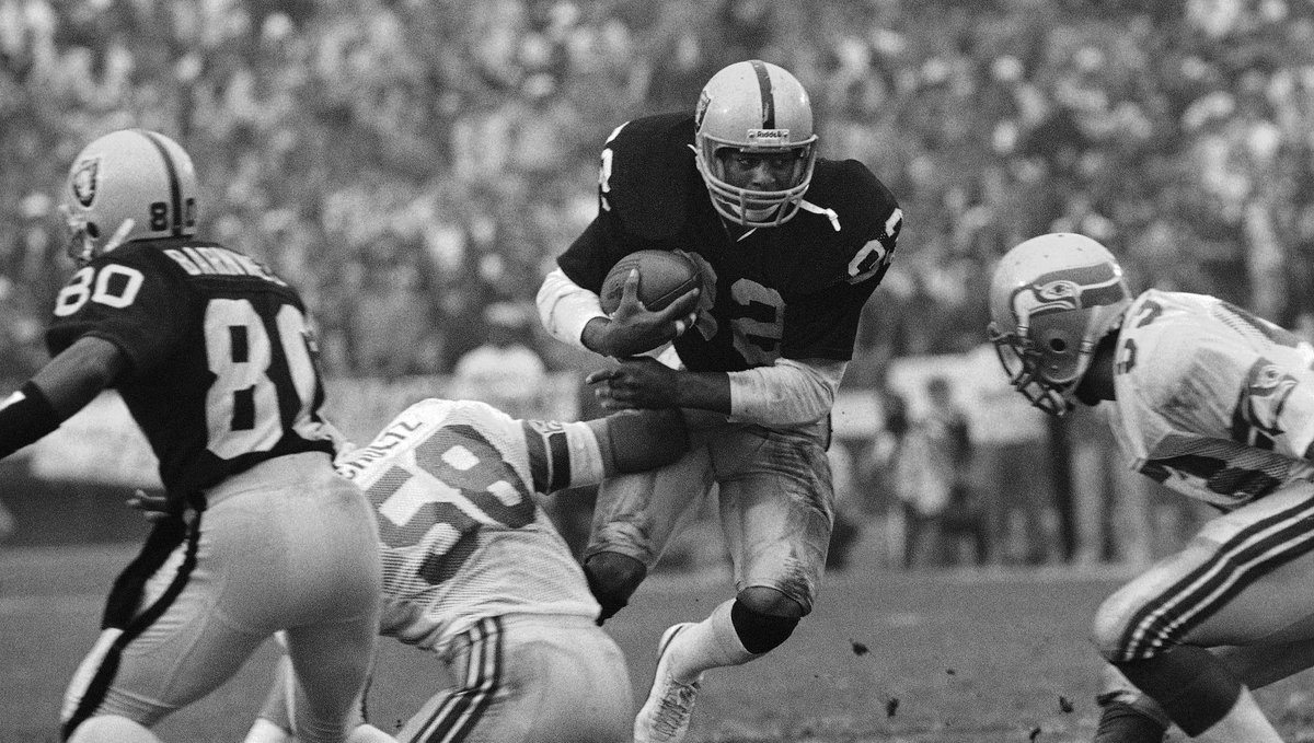 In the 1983 AFC Championship, we defeated the Seahawks 30-14. #tbt  A...