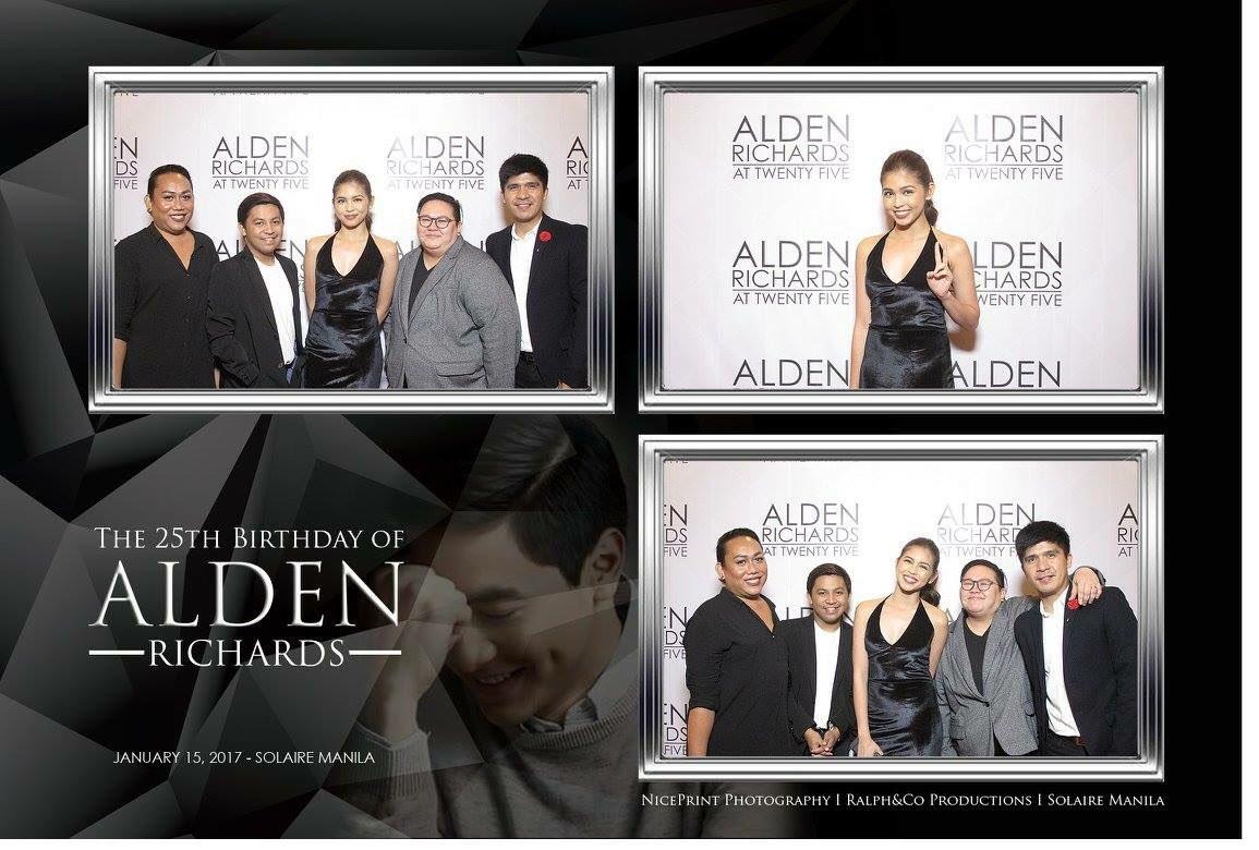 some pics at #AldenAt25 ctto.Studioonwheels FB #ALDUBHereForYou<br>http://pic.twitter.com/iRsgn7SE5i