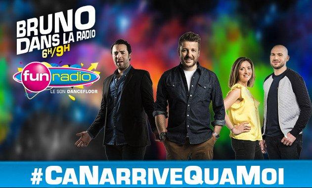 .@BRUNOFUNRADIO lance le hashtag #CaNarriveQuaMoi ! Venez nous dire ce...