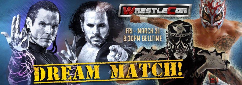 The bestt luchadors team, is coming.. @PentagonJunior #Animo #WinTeam @wrestlecon<br>http://pic.twitter.com/hHT1G9wwBa