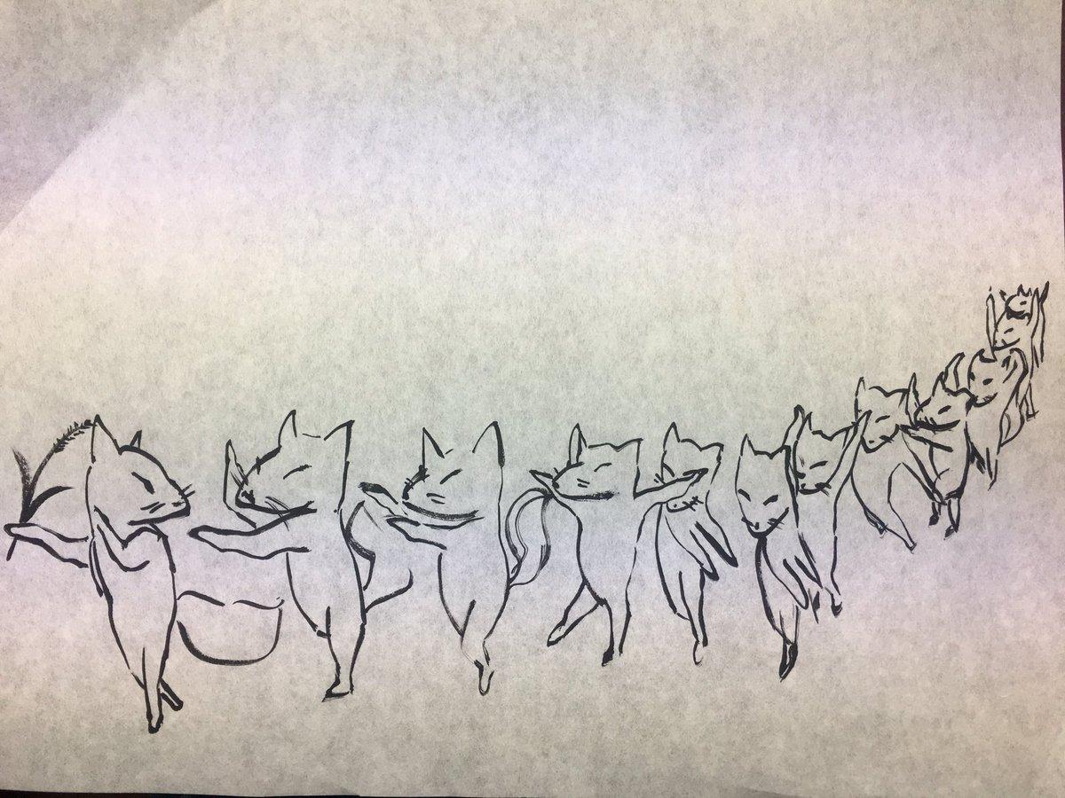 子安神社八王子 On Twitter 初午祭の狐のイラスト思案中 昨年