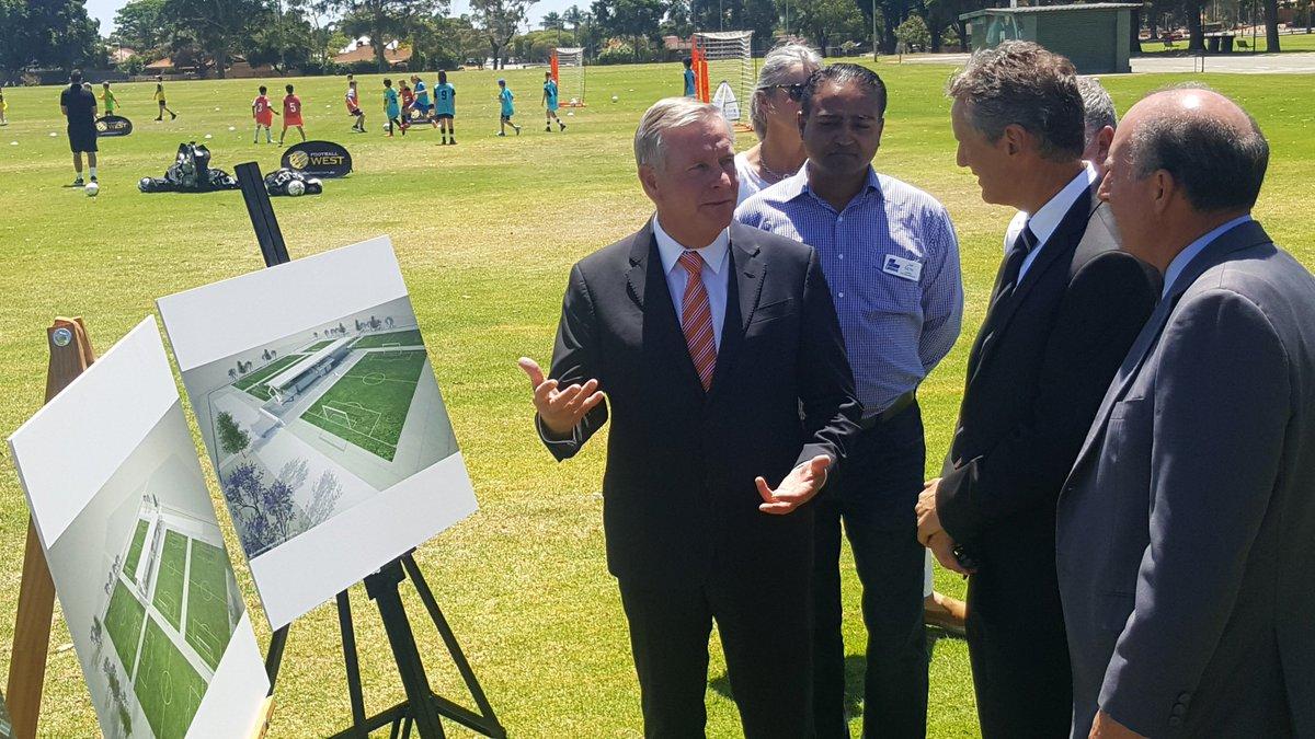 Premier @ColinBarnett today announced a $37 million commitment for a State Football Centre at Ashfield Reserve https://t.co/gFlgicPT0x