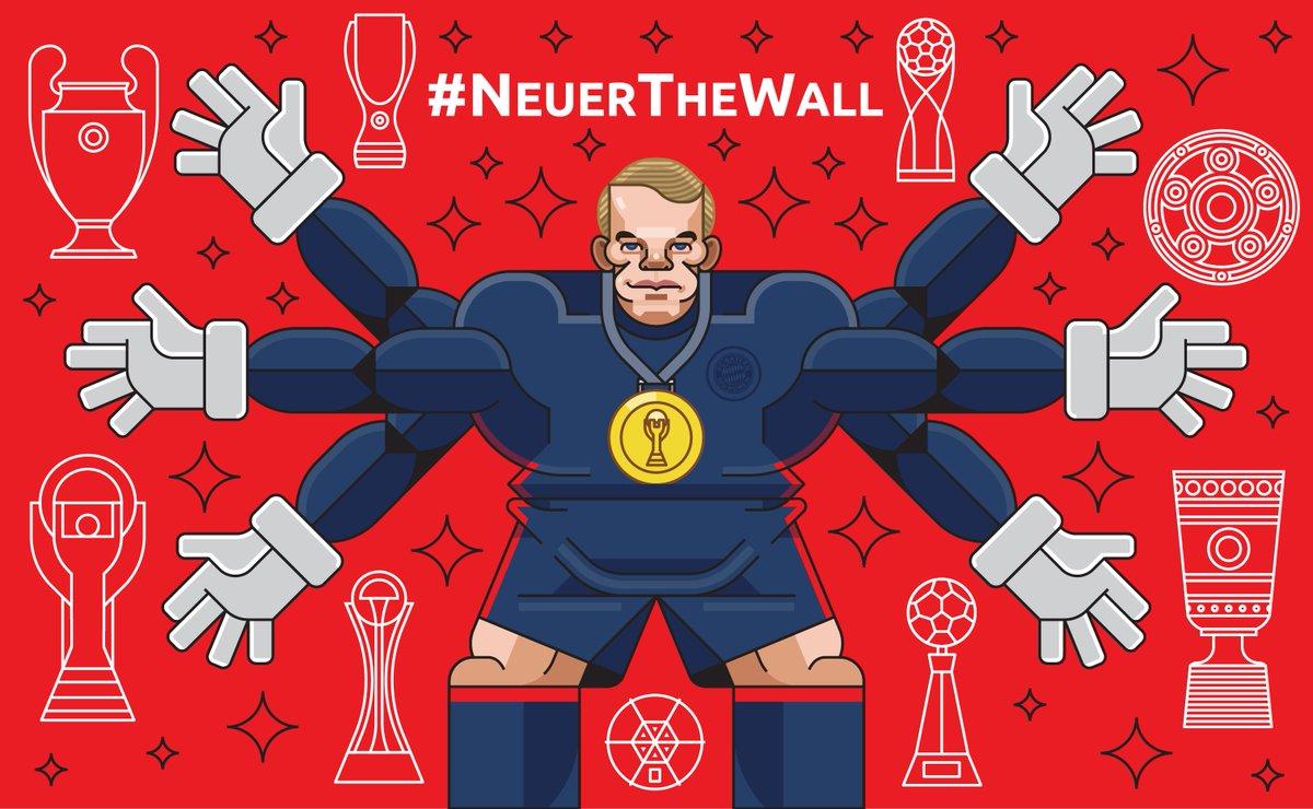.@Manuel_Neuer ist bereit für #SCFFCB! #packmas https://t.co/htKmfxnSf...