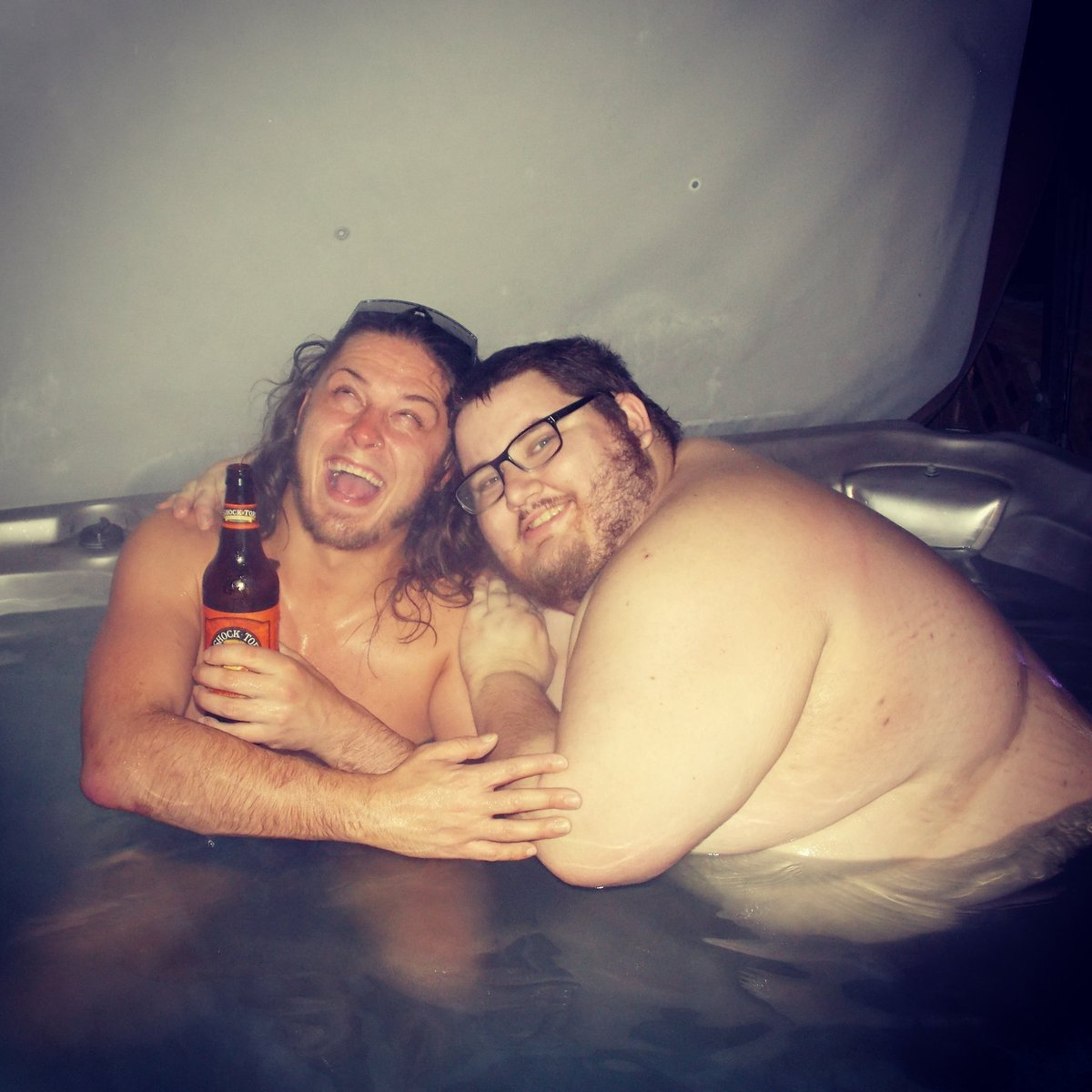 The Bad Boy @JANELABABY stepped in the Hot Tub https://t.co/GJ8eNpfB70