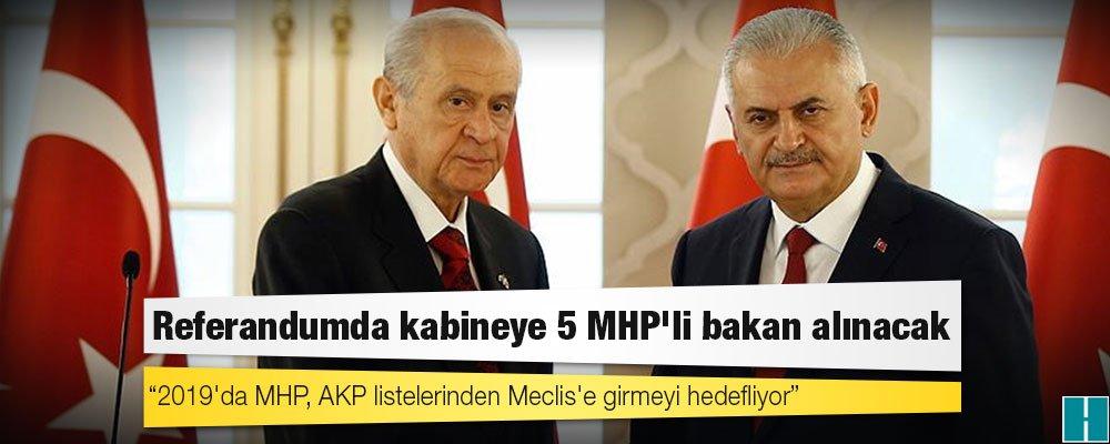 Seçime gidilirken ülkücü tabana yönelik mesaj için kabineye 5 MHP'li b...