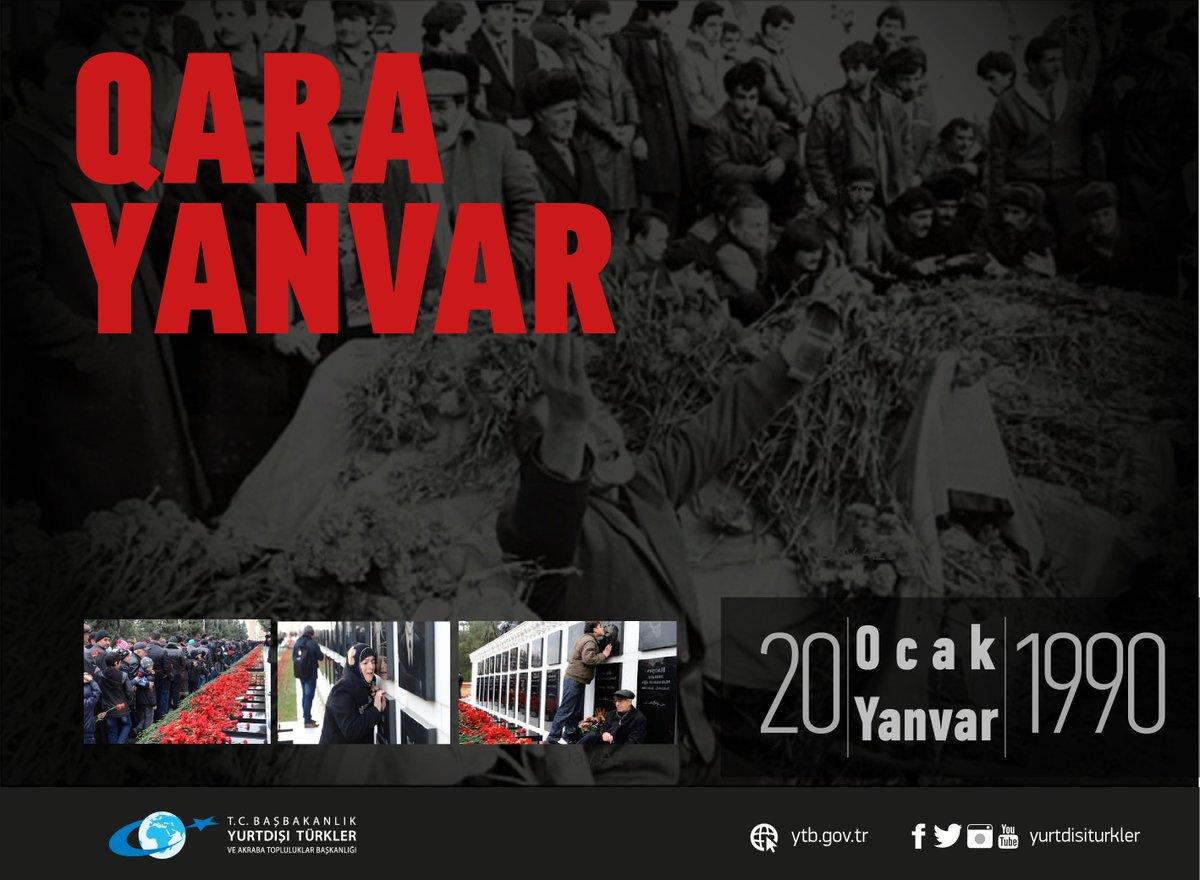 #Azerbaycan'ın istiklali için canlarını feda eden 20 Ocak Şehitlerini...