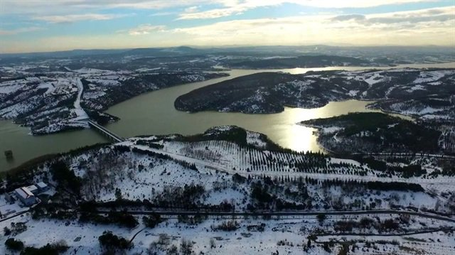 İstanbul'da barajların doluluk oranı iki haftada yüzde 26 arttı https:...
