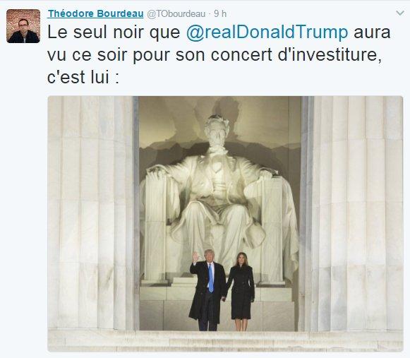 Bonjour @TObourdeau, producteur de #Quotidien, Avant de vous moquer de #Trump, pourquoi vous n&#39;appliquez pas vos leçons à vous-même ?  #Bobo<br>http://pic.twitter.com/uDCItaOE5K