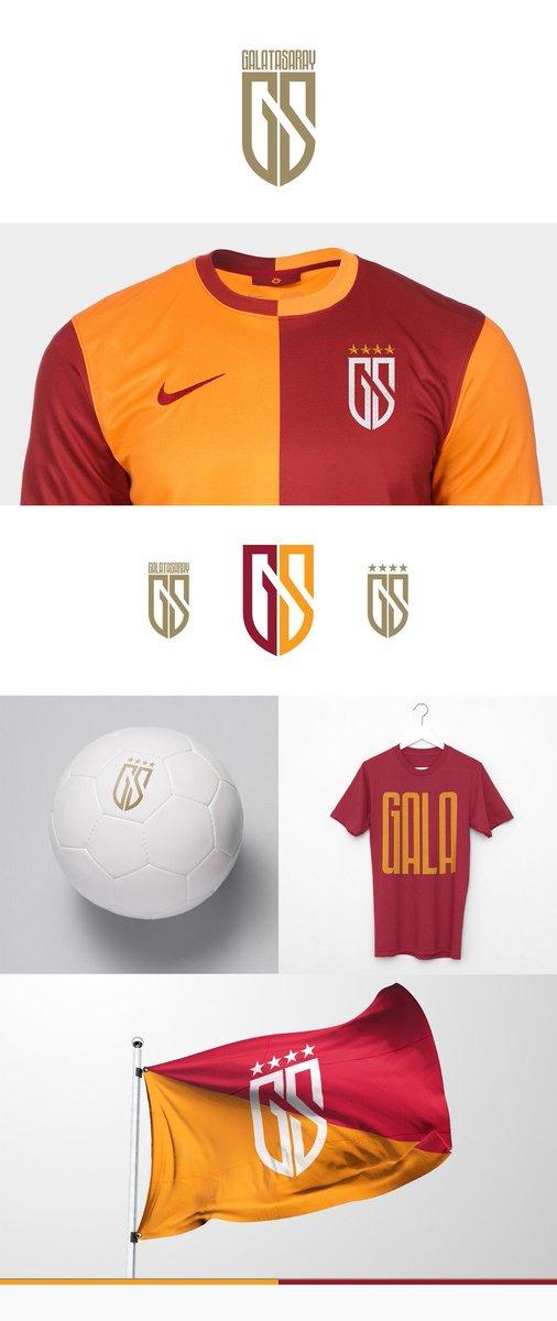 Galatasaray için alternatif logo çalışması. (Tasarım: Kutan Ural) http...