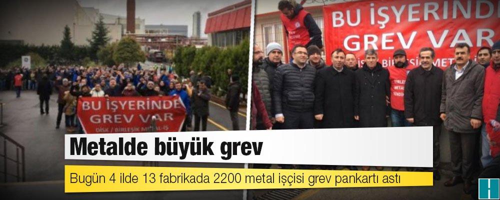 Metalde büyük grev! Binlerce işçi greve çıkıyor...  https://t.co/G9GgI...