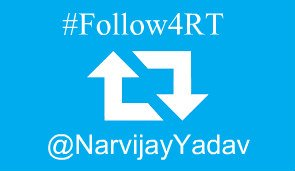 Follow @NarvijayYadav to get 12 RTs this year. Use hashtag #follow4RT in a tweet after you follow me. :) Get instant RT today.  <br>http://pic.twitter.com/zDZFRWIhdr