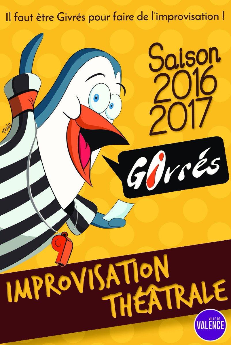 #Valence La crème de l&#39; #impro ce soir au #Comedy  https://www. comedypalace.fr/agenda/126-les -master-du-printemps-des-givres/event_details.html &nbsp; …  les nveaux talents dimanche à Chateauvert  http://www. givres.fr/catch-interne- voici-les-lutteurs-du-3e-round/ &nbsp; … <br>http://pic.twitter.com/FVY5eOHbLo
