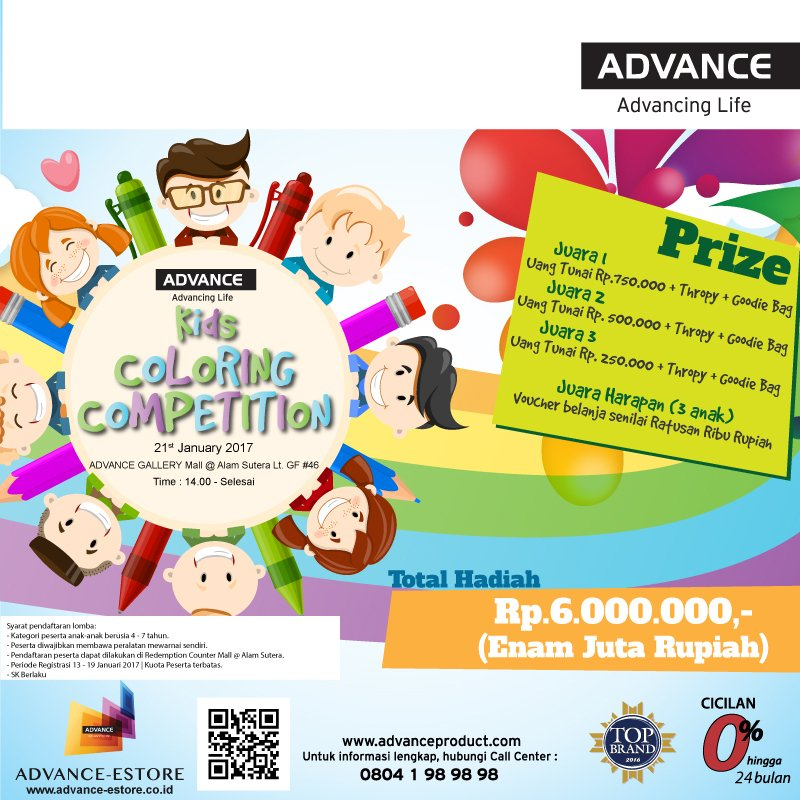 Mall Alam Sutera On Twitter Kids Coloring Competition