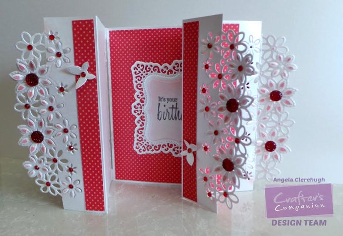 Inspirational Tutorial: Gatefold cards using Edge\'able dies