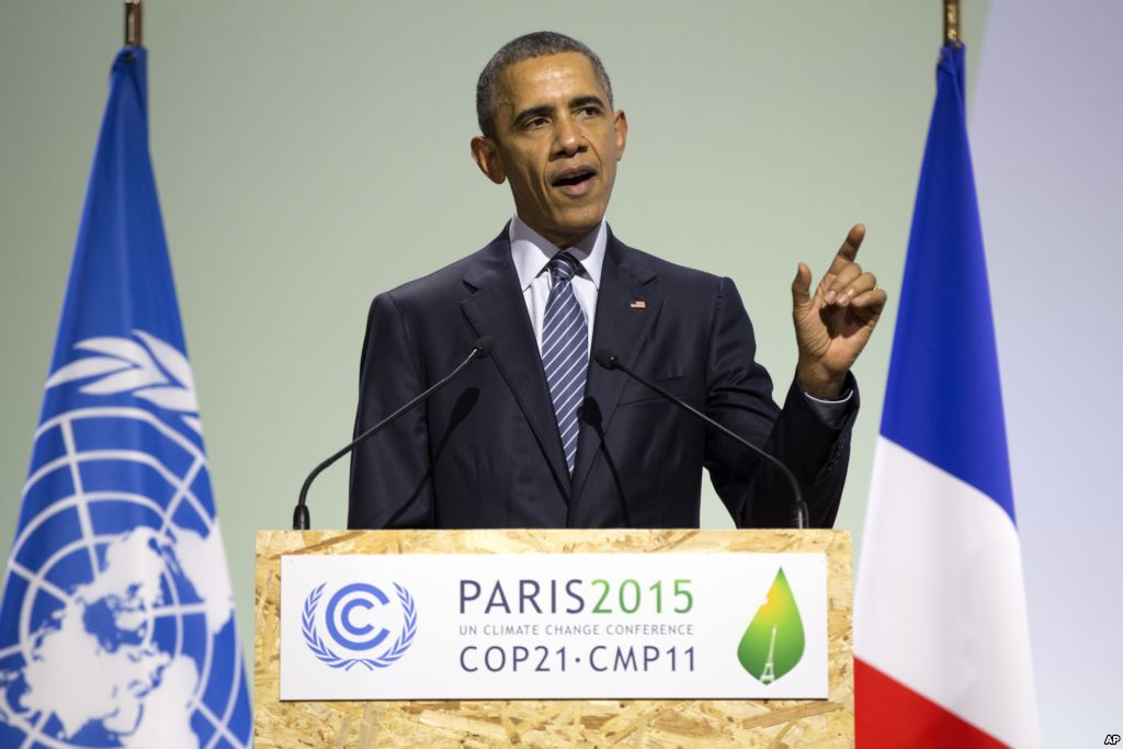 #ThankYouObama for signing the historic #ParisAgreement and being in the forefront in the fight against climate change. <br>http://pic.twitter.com/8FCOnN6tST