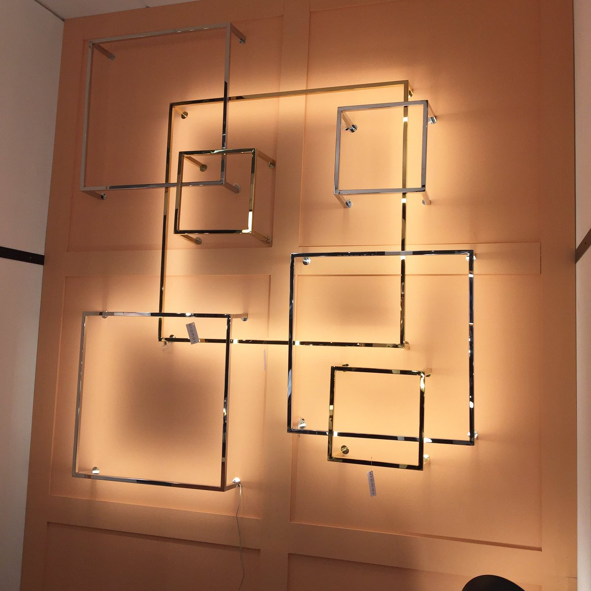 aromas del campo on twitter maisonetobjet 2017 paris new models cubex wall lamp. Black Bedroom Furniture Sets. Home Design Ideas