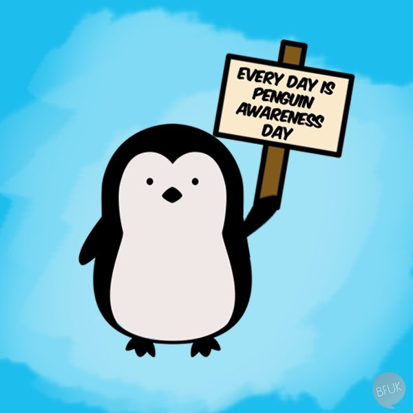#PenguinAwarenessDay https://t.co/VOmWz8KTiv
