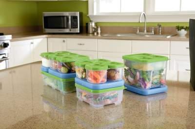 пластиковые контейнеры для хранения вещей с крышкой где выбрать недорого