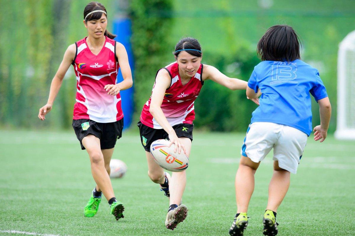 タッチラグビー女子日本代表