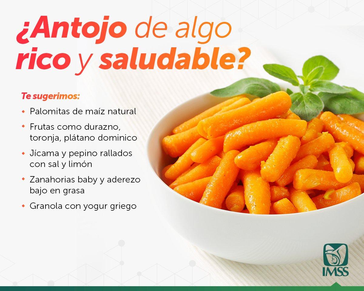 Un #AntojoSaludable puede ser de 150 calorías y estarás cuidando tu pe...