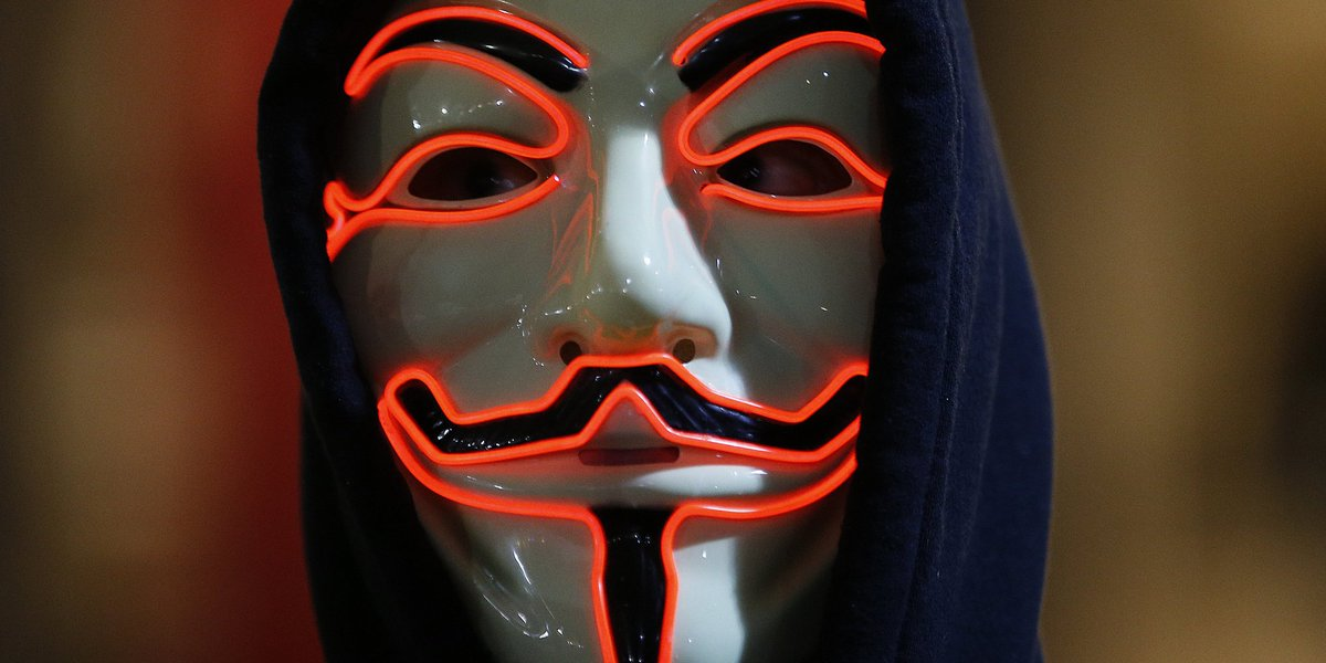 Anonymous warns Trump: 'You are going to regret the next four years' h...