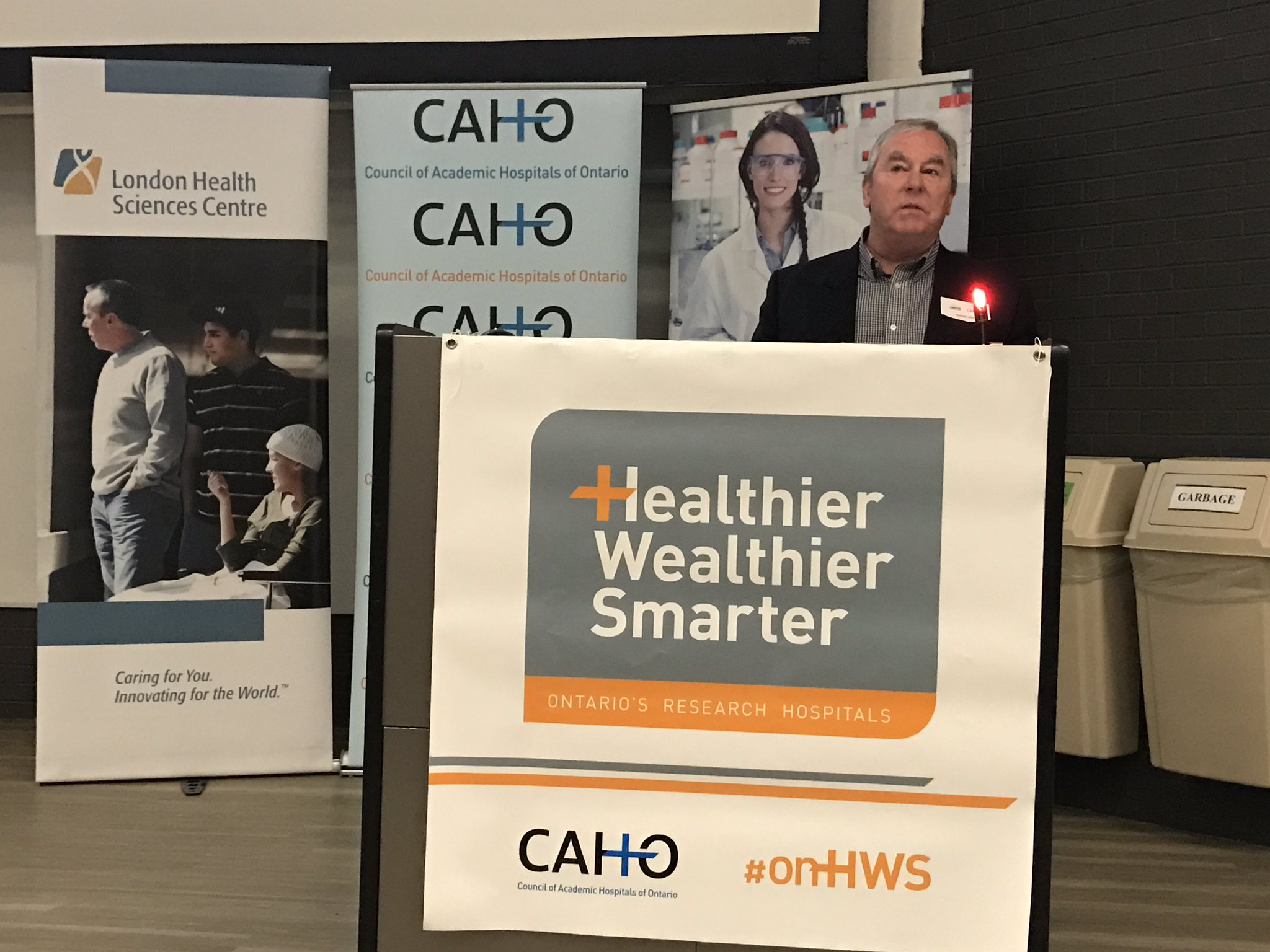 Michael Allen is a 2-time cancer survivor who participated in our personalized medicine research program. #onhws @LHSCCanada https://t.co/iLHfflM60j