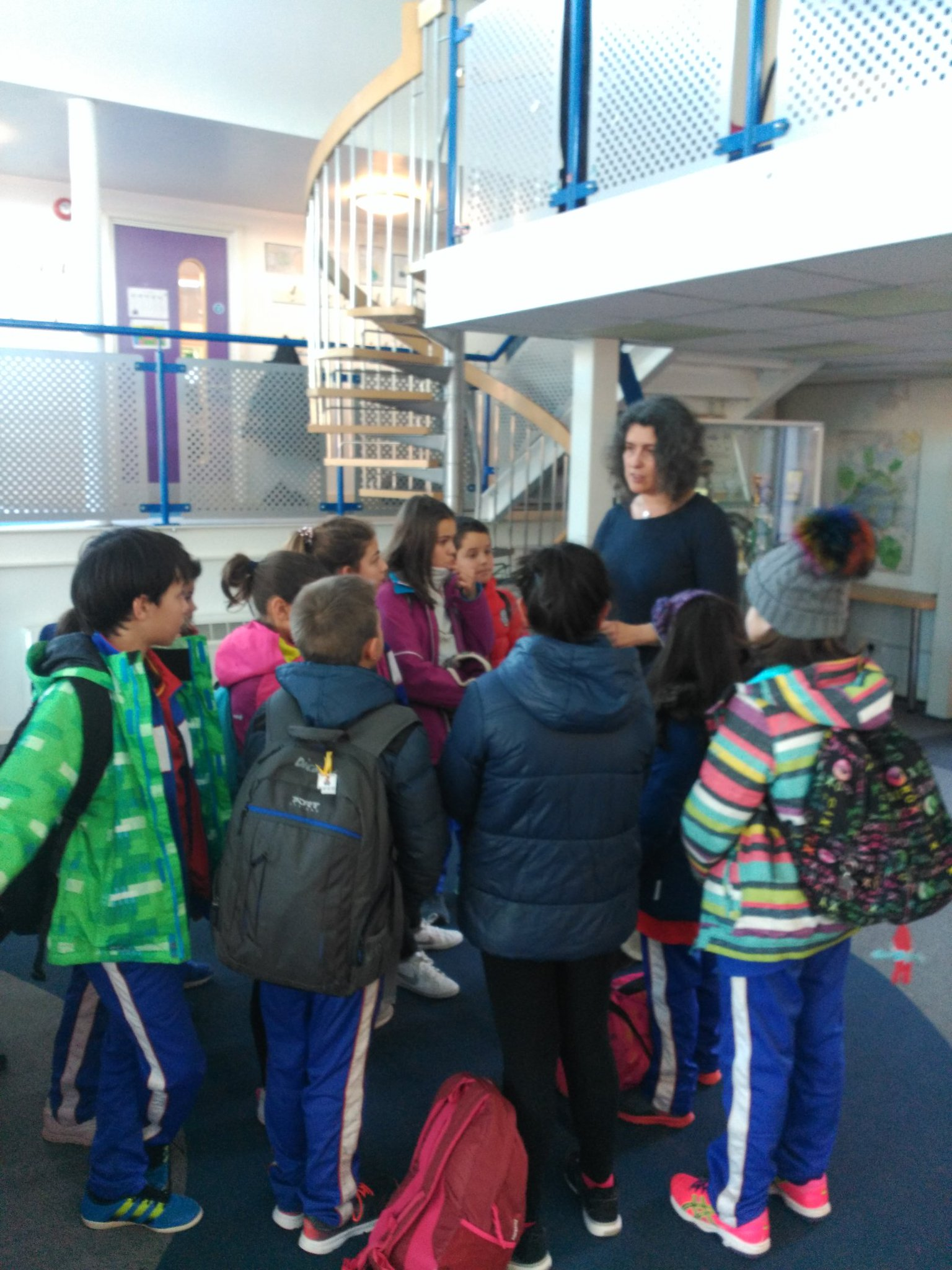 The headteacher from @HTPDSchool  said to the @colsangregorio. We are so proud of you, you are great ambassor of your school & your country https://t.co/p3lL1ftiJ5