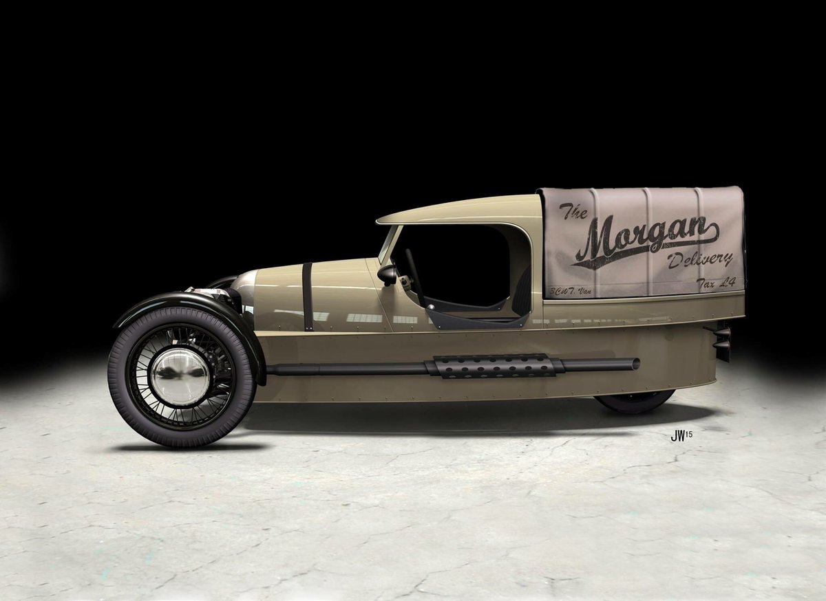 Morgan Motor Company Ar Twitter Our Modern Interpretation Of The Commercial Variant Morgan 3 Wheeler Sold In The 1920s 30s The Coolest Delivery Vehicle In The World Https T Co Dpm7et6s49