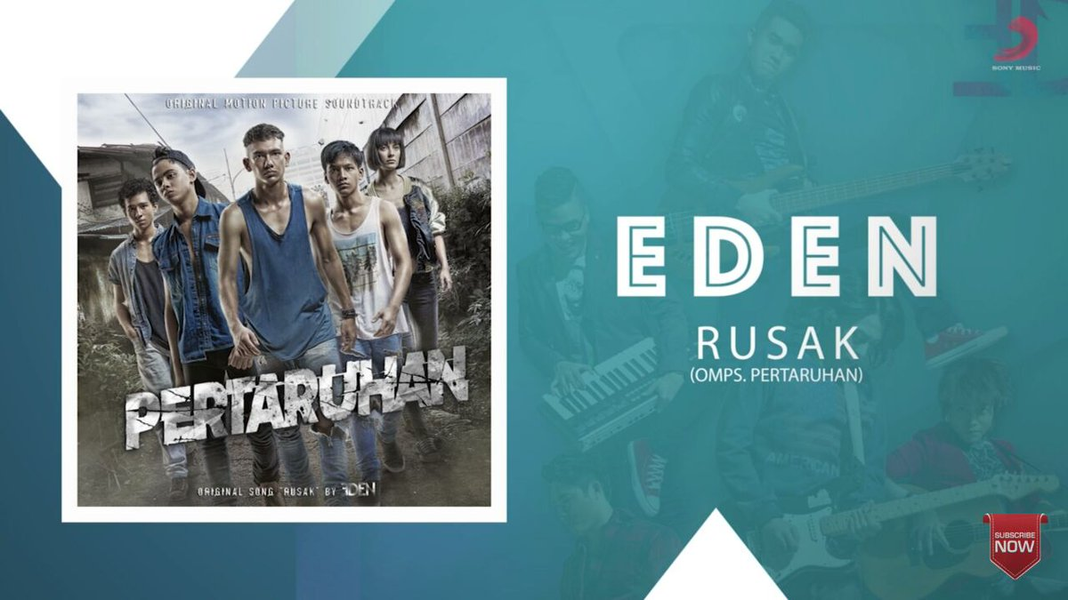 Penasaran dengan single terbaru  @edenmusic_ yuk berjudul 'Rusak' yuk...