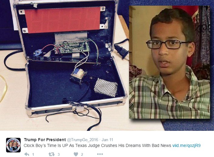 Ahmed the Clock Boy ordered to pay $82,000 in legal fees after suing people for defamation https://t.co/MxJNOSKp5Y https://t.co/uV3mpI3043