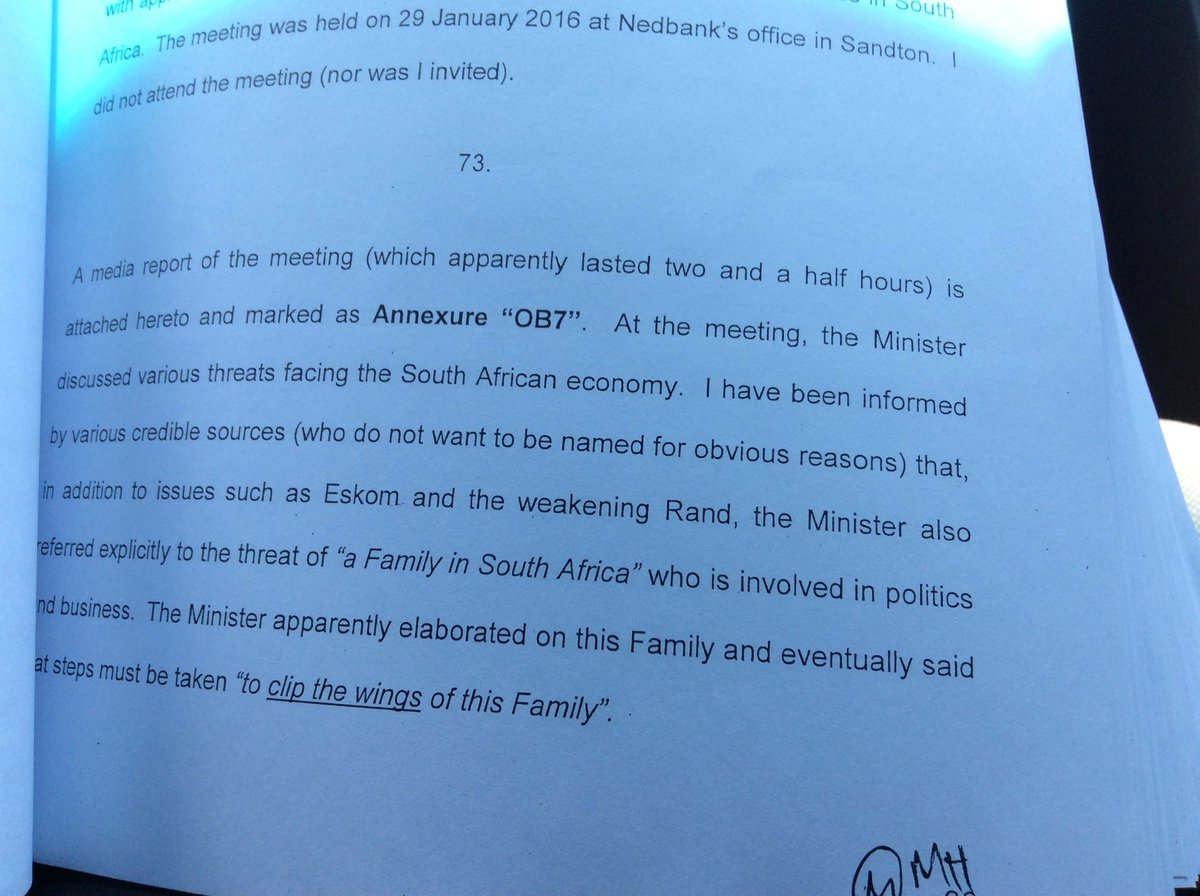 This is apparent basis for #Gupta plot claims against #PravinGordhan h...