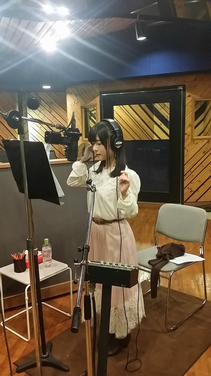 本日、天使の3P!ドラマCDの「BLUE TEARS」を、曲に合わせた雪の日に収録しました。大野さん、遠藤さん、古賀さんの三人とも素敵な感じ...