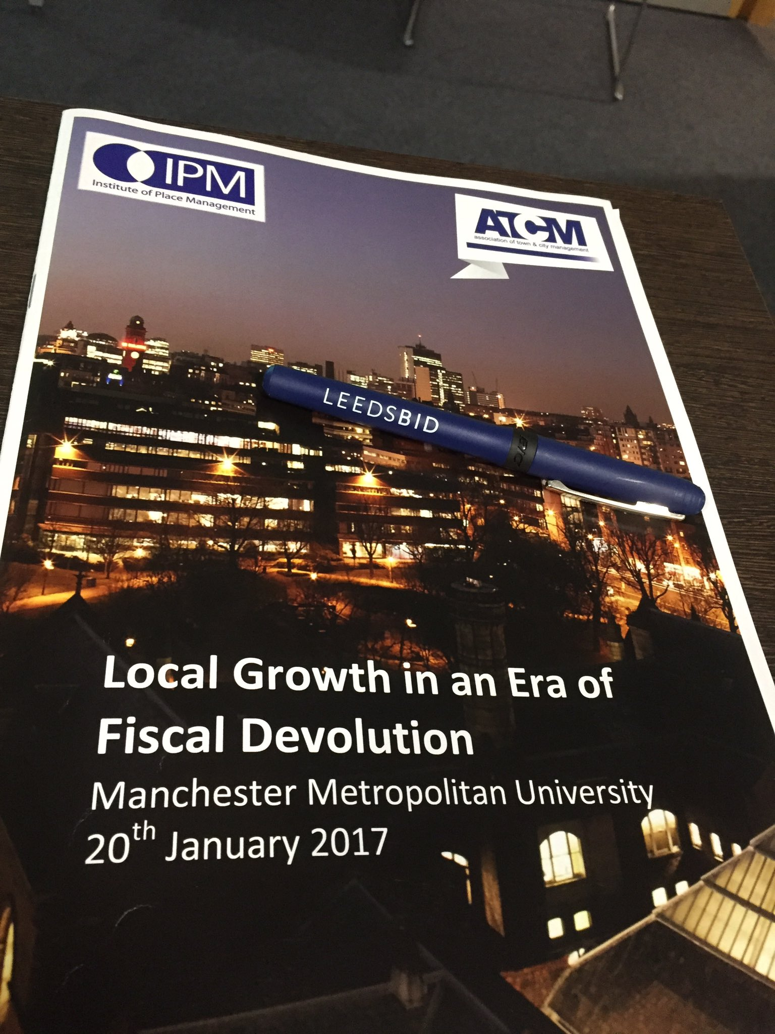 Great insight into new bill on 100% business rate retention from Nick Cooper at ATCM event @ATCMUK @LeedsBID https://t.co/72HBNkUD8i