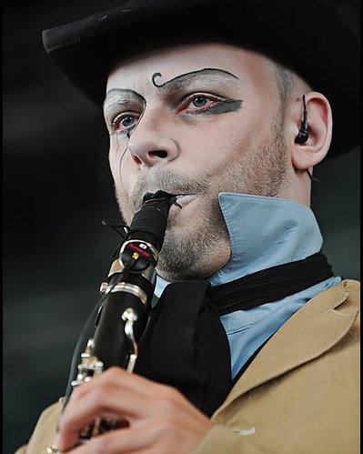 Crazy clarinetists from Coppelius #coppelius #maxcoppella #comtecaspar #clarinet #clarinetist #music #livemusic #lovemusic @Coppeliushilft<br>http://pic.twitter.com/JgU63fo2Go