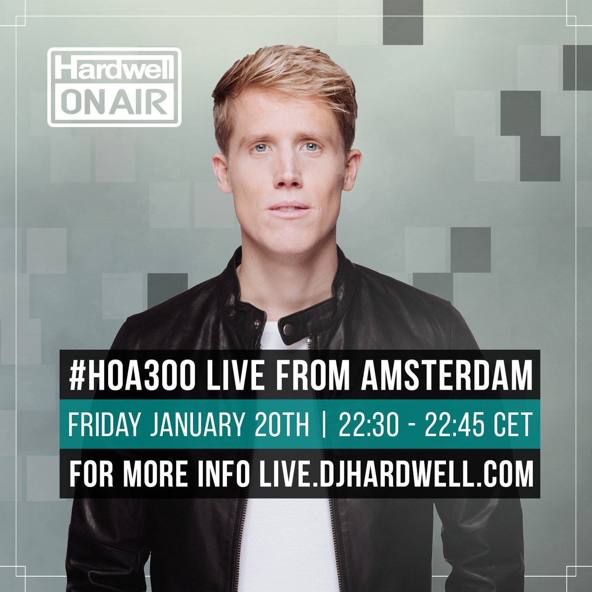I'm happy to announce I'll be supporting @Hardwell today in #HOA300! T...