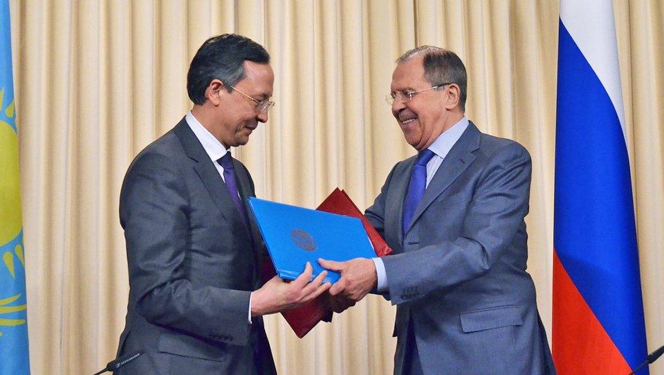 Thumbnail for Lavrov - Kairat Abdrakhmanov meeting in Moscow  Встреча С.Лаврова и главы МИД Казахстана
