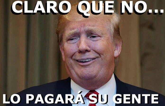 Oye Donnie, dice Peña Nieto que México NO pagará por el muro...  #SoyT...