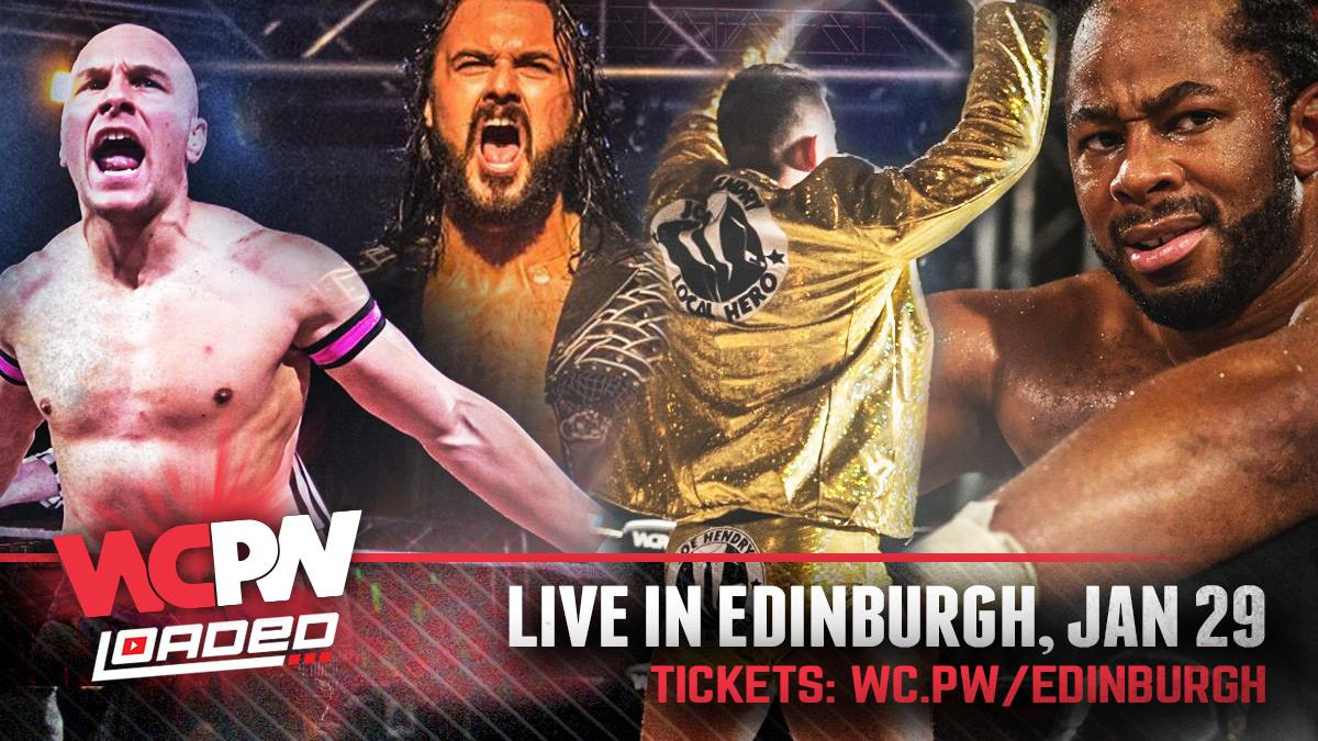 WCPW comes to Edinburgh in just over one week, January 29! Tix here.....