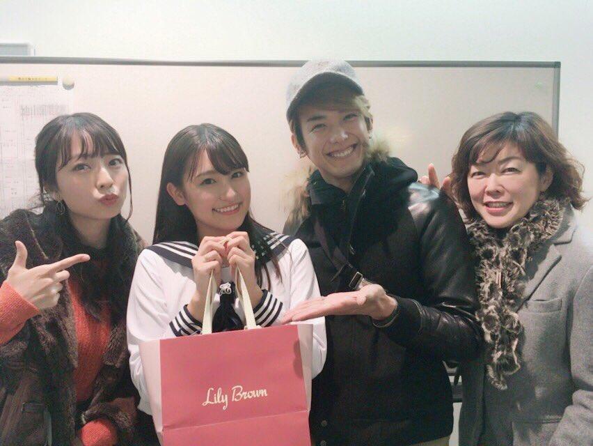 今日はリリアちゃんと小林靖子さんと愛ちゃんの舞台を観に行って来ました〜!! 愛ちゃんのお嬢さんキャラ…