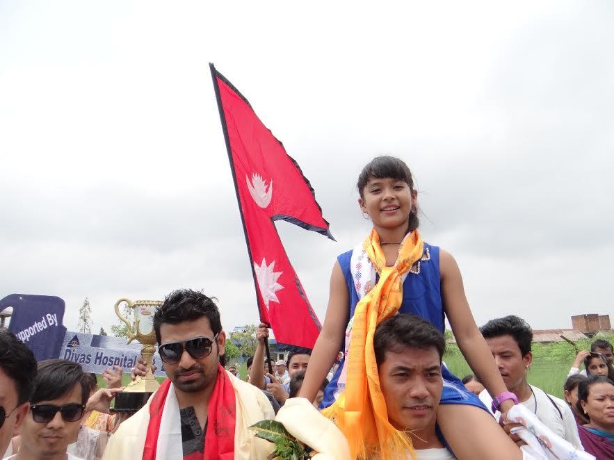Nepali girl Teriya wins Indian reality show #jhalakdikhhlajaa  https://t.co/05araKmGYs https://t.co/xdbGytbY4O
