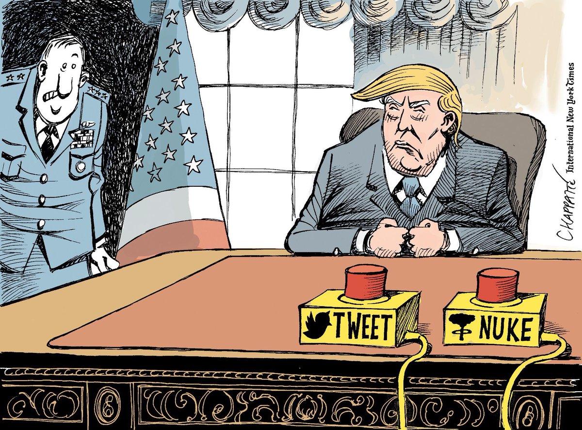 Asumió Donald Trump, volvió el humor político a los Estados Unidos. ht...