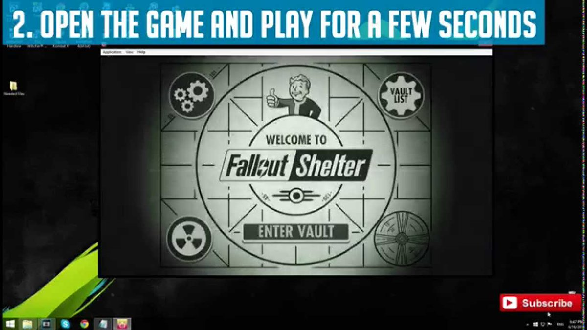 hack for fallout shelter