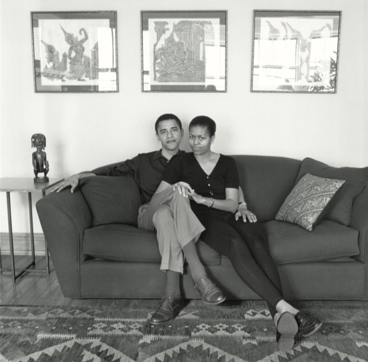 An interview with the Obamas, from 1996, when they were an unknown cou...