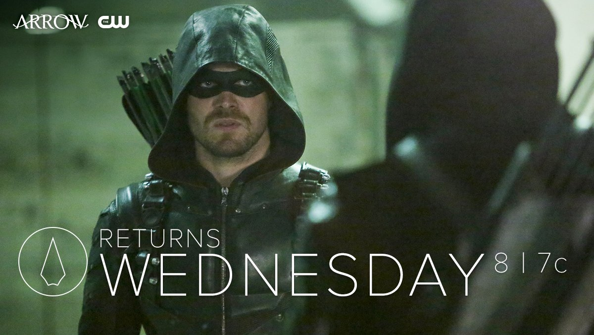 #Arrow returns to Star City this Wednesday at 8/7c. Catch up with The...