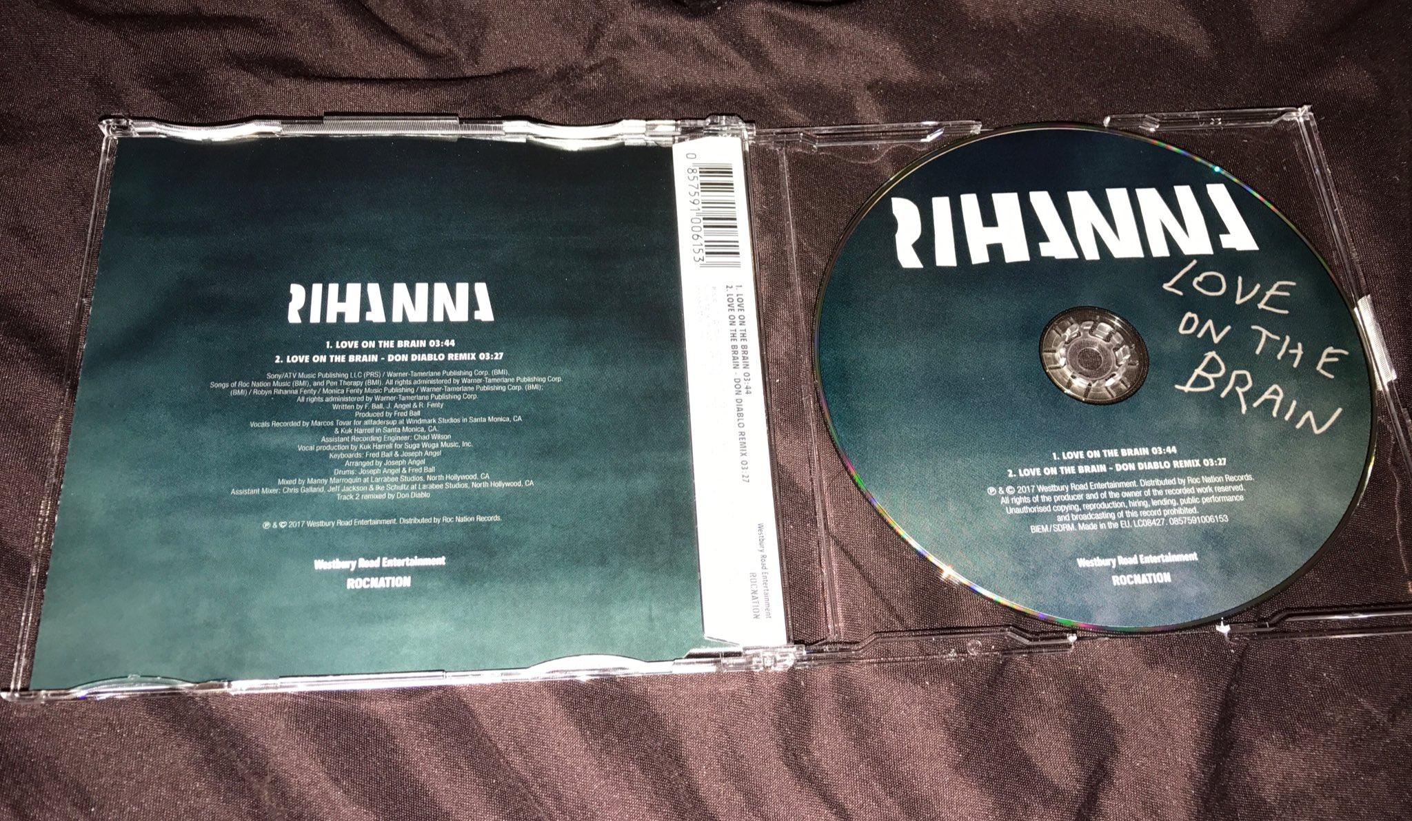 Rihannanavide On Twitter Love On The Brain Cd Single